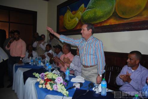 Reynaldo Pared Pérez en Visita a San Juan de la Maguana