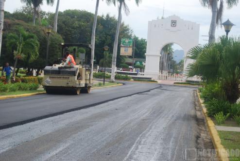 Asfaltado en San Juan