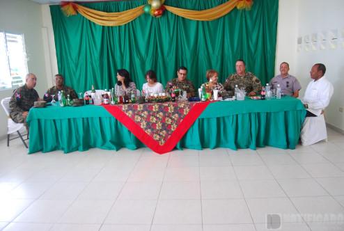 Mesa Principal Encuentro 3ra y 5ta Brigada