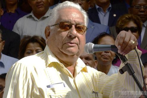 Euclides Gutiérrez Félix, miembro del Comité Político del Partido de la Liberación Dominicana