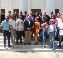 Comunicadores Banilejos en Visita a San Juan