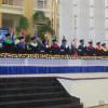 Mesa de honor en Graduación UASD San Juan Septiembre 2015