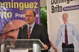 Foto de archivo de Francisco Domínguez Brito en un acto.