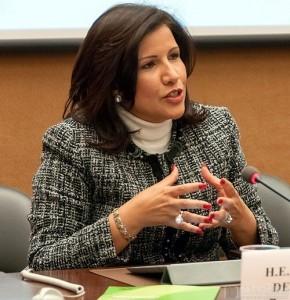 Dra. Margarita Cedeño, Vicepresidenta de la República Dominicana