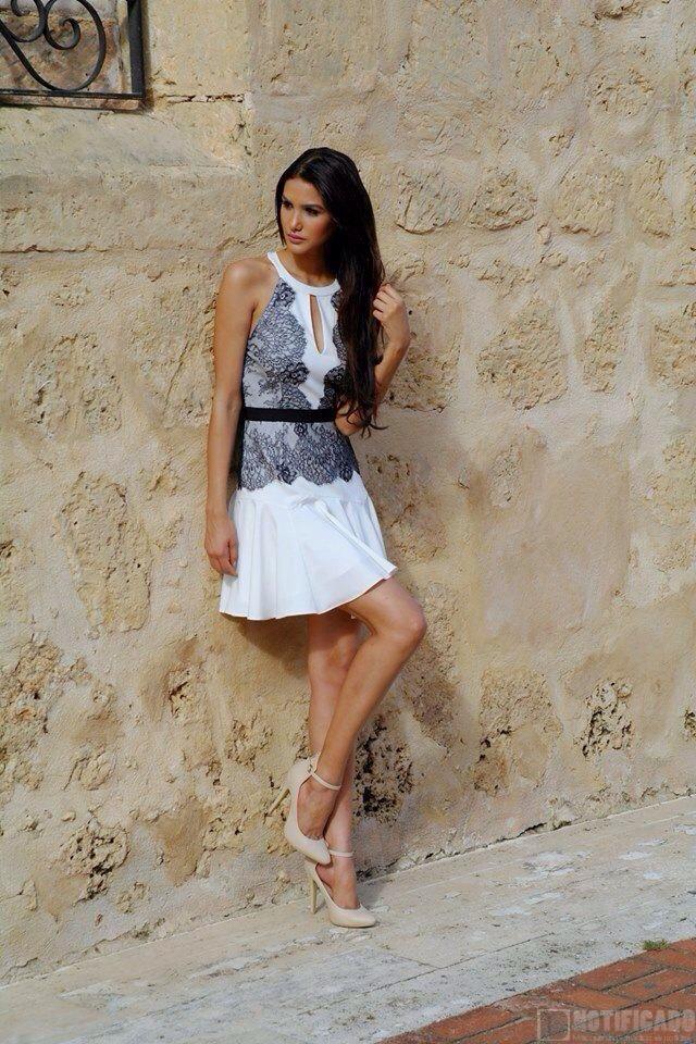 La Miss República Dominicana Universo 2014, Kim Castillo.