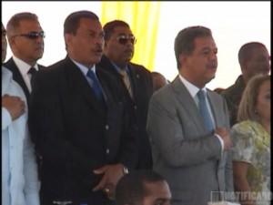 El Lic. Mauro Piña Bello, anfitrión de evento con la participación del Presidente Dr. Leonel Fernández, en su última gestión gubernamental.