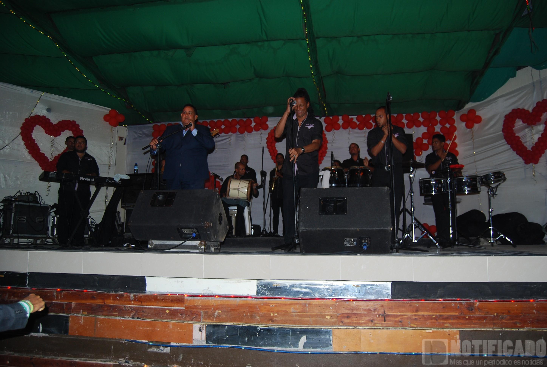 Pena Suazo y Orquesta, durante su participación