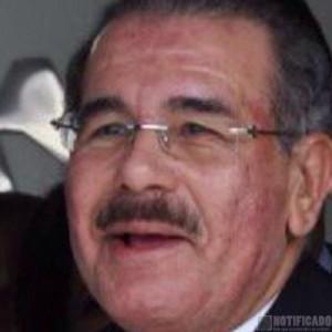 El rostro del Presidente Lic. Danilo Medina, visiblemente afectado por la causa de su enfermedad.