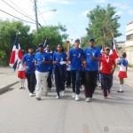 Atletas recorren San Juan con Antorcha de los Juegos Escolares Espaillat 2016