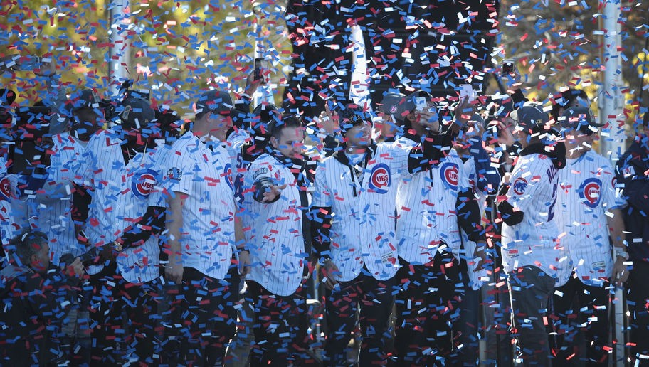 Chicago Cubs Victory Celebration