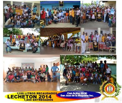 Lecheton San Juan 2014