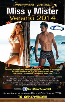 Miss y Mister Verano 2014