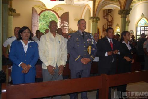 Celebración del día del patrón de la Policía Nacional