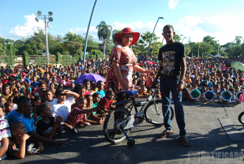 Hanoi Sánchez en Yo le Sirvo a Mi Pueblo 2015 San Juan