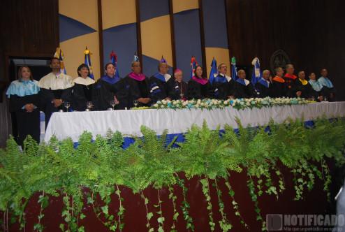 Mesa de Honor Graduación de Maestría UASD San Juan.