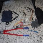 Herramientas utilizadas para el Robo